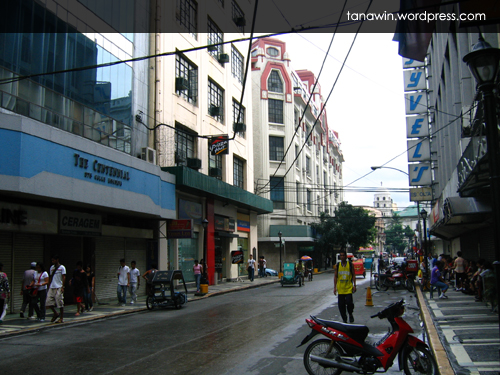 Present day Escolta (Photo taken on September 27, 2008)