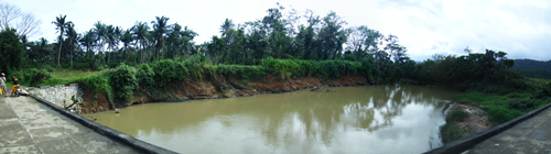 Panorama shot of the river in Baliw, Sanchez Mira, Cagayan